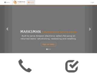 marksman.azurewebsites.net screenshot