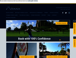 marksontennis.com screenshot