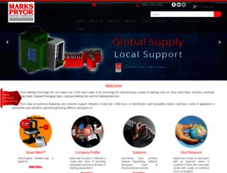 markspryor.com screenshot