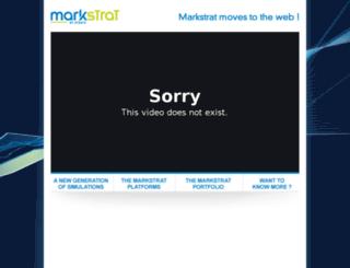 markstrat.com screenshot