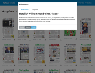 markt.mainpost.de screenshot