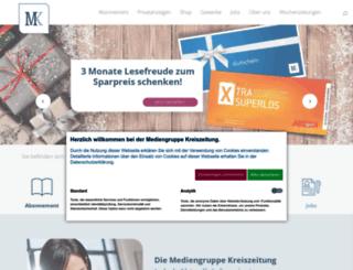 marktplatz.kreiszeitung.de screenshot