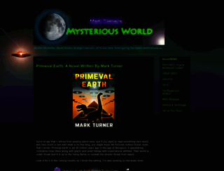markturnersmysteriousworld.blogspot.com screenshot