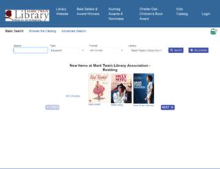 marktwain.biblio.org screenshot