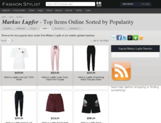 markus-lupfer.fashionstylist.com screenshot