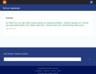markus-vogelsanger.ch screenshot
