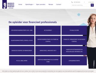 markusverbeekpraehep.nl screenshot