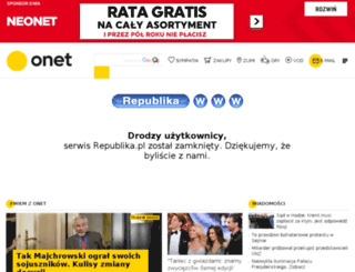markuszewska.republika.pl screenshot