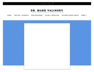 markvalinsky.com screenshot