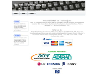 markviii.com screenshot
