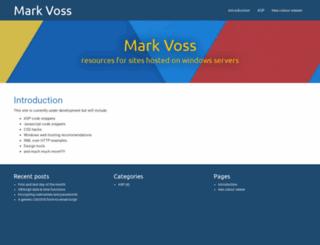 markvoss.net screenshot