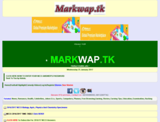 markweb.wapka.mobi screenshot