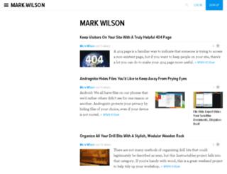 markwilsonwords.kinja.com screenshot