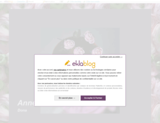 marle.eklablog.com screenshot