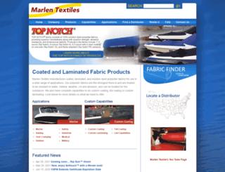 marlentextiles.com screenshot