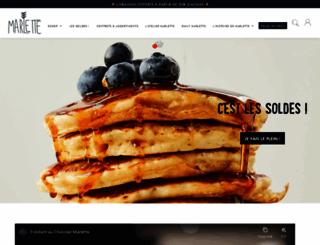 marlette.fr screenshot