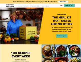 marleyspoon.com screenshot