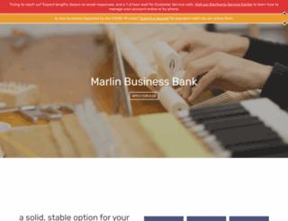 marlinbank.com screenshot
