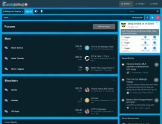 marlinbaseball.com screenshot