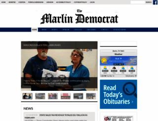marlindemocrat.com screenshot
