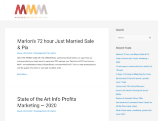 marlonsnews.com screenshot