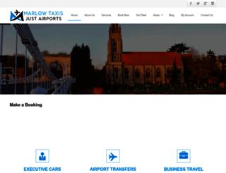 marlow-taxis.com screenshot