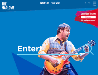 marlowetheatre.com screenshot