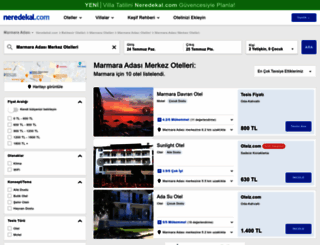 marmara-adasi-merkez.neredekal.com screenshot