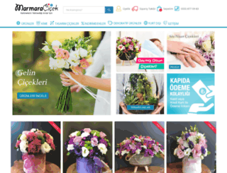marmaracicek.com screenshot