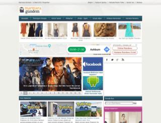 marmaragundem.org screenshot