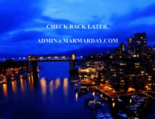 marmarday.com screenshot