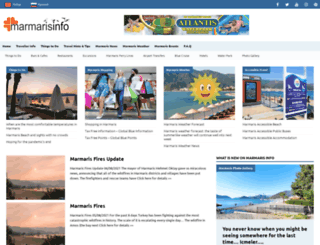 marmarisinfo.com screenshot