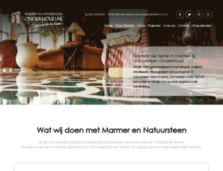 marmerennatuursteenonderhoud.nl screenshot