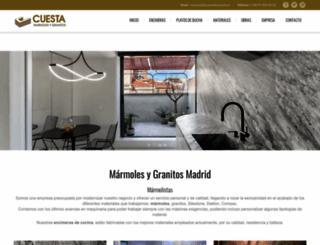 marmolescuesta.es screenshot