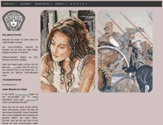 marmor-mosaike.de screenshot