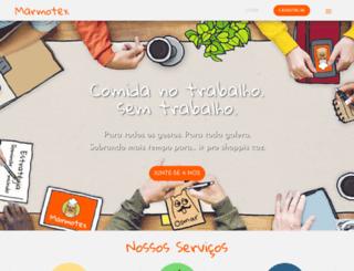 marmotex.com.br screenshot