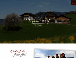 marmsolerhof.com screenshot