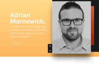 marnewick.co.za screenshot
