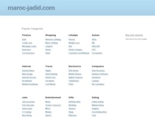 maroc-jadid.com screenshot