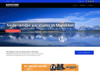 marokkowerkt.nl screenshot