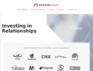 marooninc.com screenshot