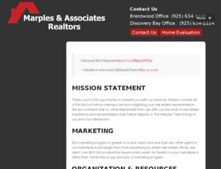 marplesteam.com screenshot