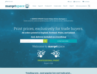 marqetspace.co.uk screenshot