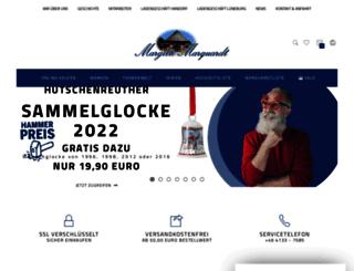 marquardt-porzellan.de screenshot