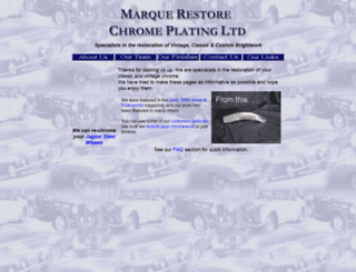 marquerestore.co.uk screenshot
