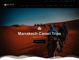 marrakech-camel-trips.com screenshot