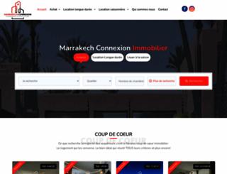 marrakech-connexion.com screenshot
