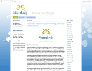 marrakechinc.blogspot.com screenshot