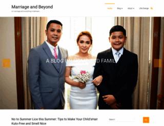 marriageandbeyond.com screenshot