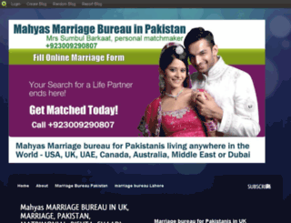 marriagebureau.blog.com screenshot